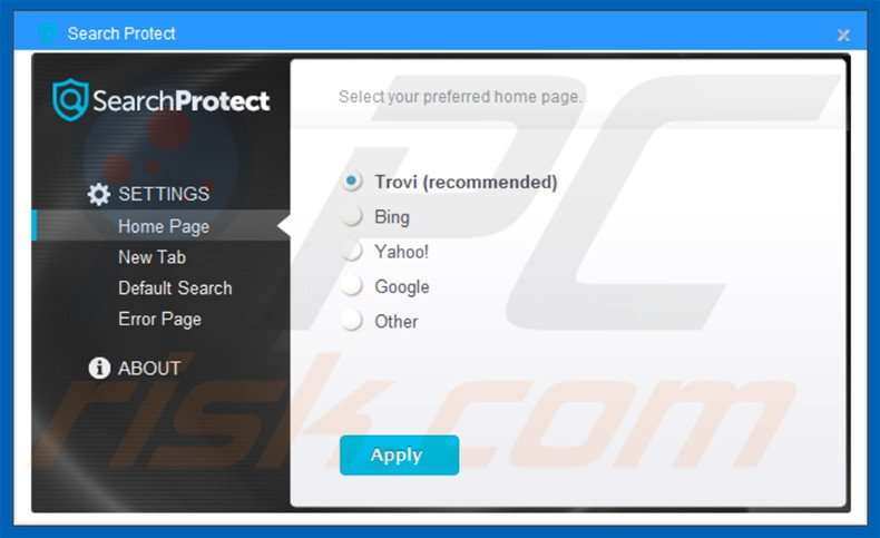 Search Protect by Client Connect Ltd browser hijacker
