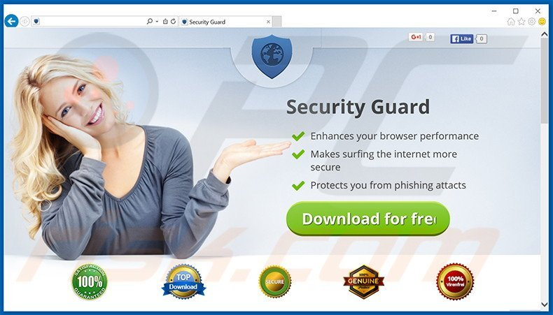 Security Guard adware