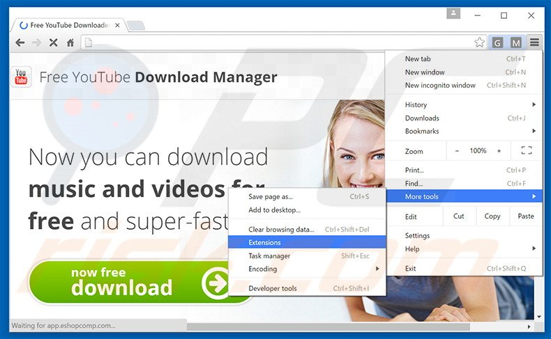 How to uninstall Free Youtube Download Manager Adware - virus