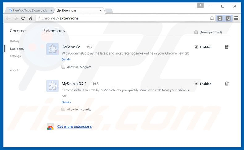 How to uninstall Free Youtube Download Manager Adware