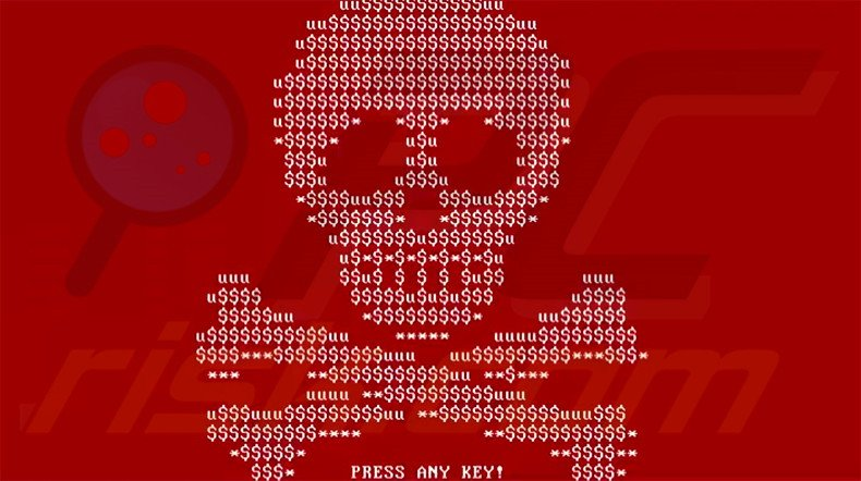 Petya skull lock screen