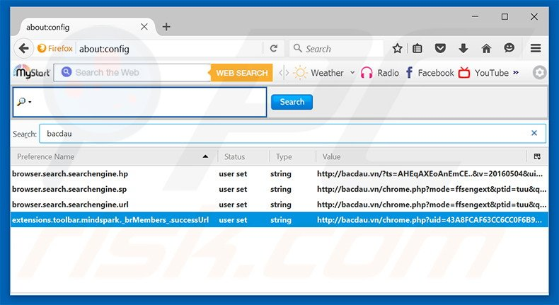 how to delete a search engine on firefox