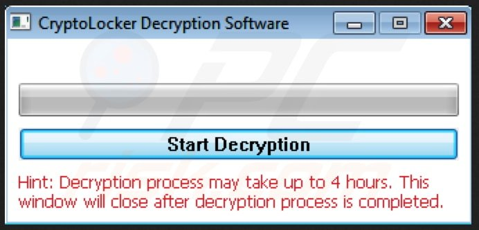 crypt0l0cker decryption software
