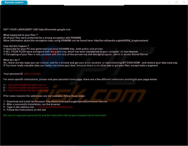cryptxxx ransomware updated variant