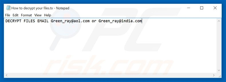 Green_Ray text file