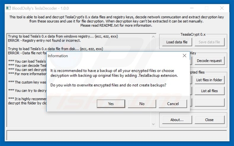 How to remove TeslaCrypt Ransomware - virus removal steps (updated)