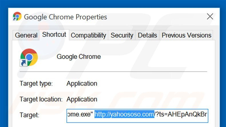 how to get rid of yahoo search on chrome