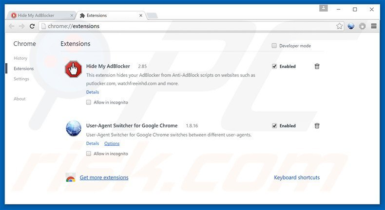 How to uninstall Ads by Hide My AdBlocker - virus removal