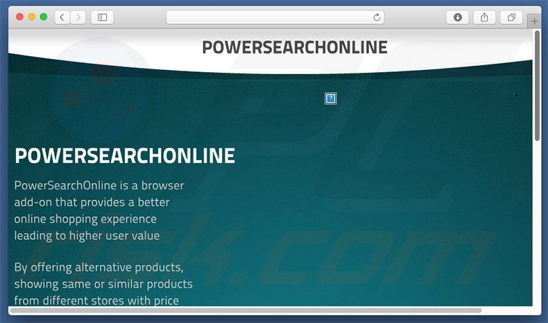 PowerSearchOnline adware