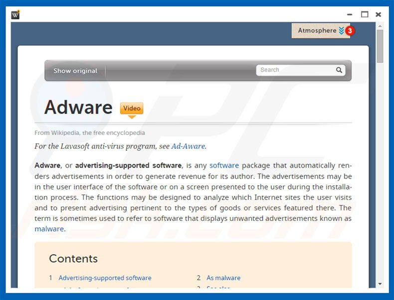 advertising supported software adware Start studying security+ malware which of the following answers refer to the characteristic features of an advertising-supported software adware can track.