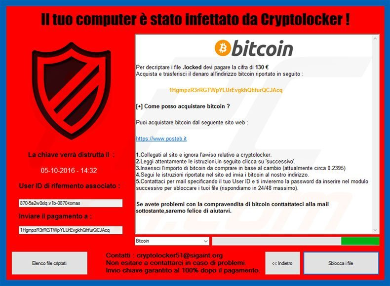how to remove cryptolocker 5 1 ransomware virus removal steps