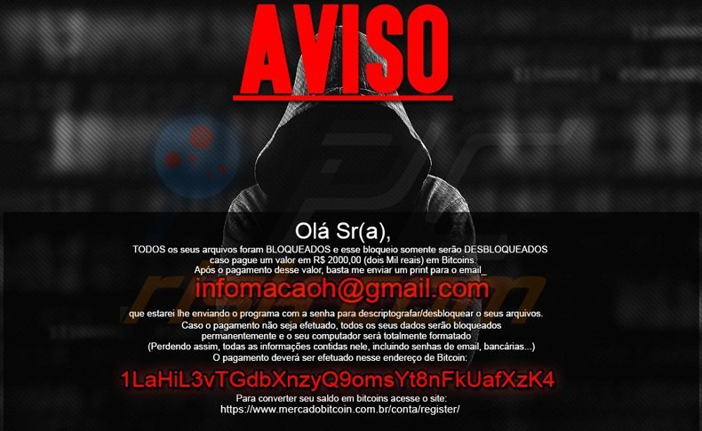 mircop ransomware targeted at PC users from Brazil