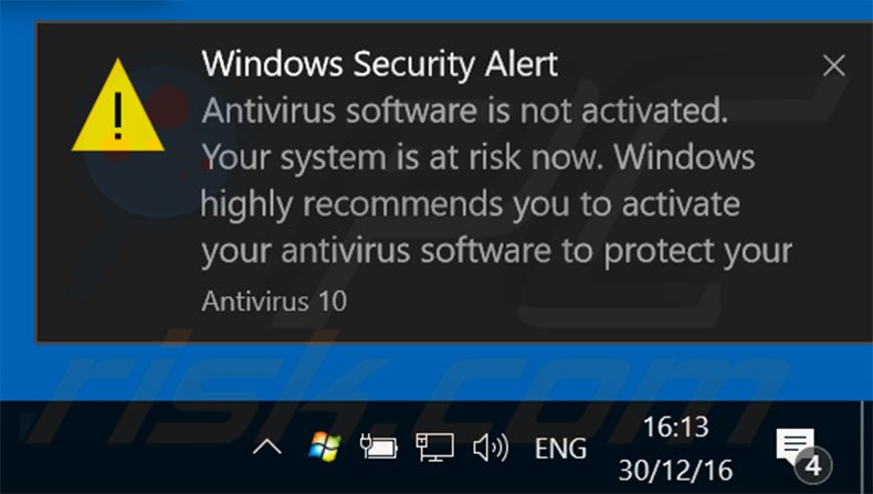 How to remove antivirus 10 fake antivirus removal guide antivirus 10 displaying fake error pop ups sample 3 ccuart Gallery
