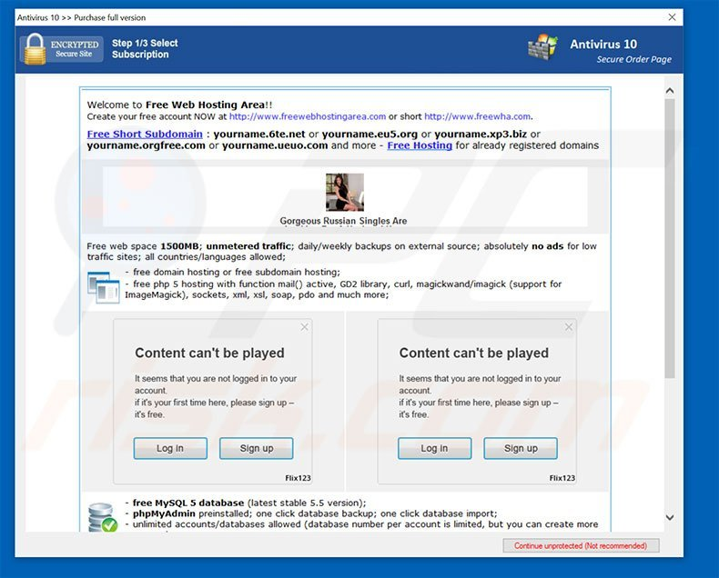 Antivirus 10 purchase full version