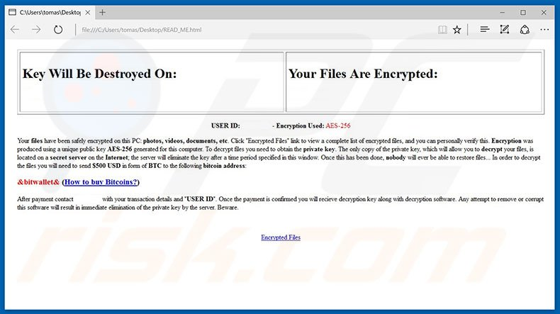 How to remove FireCrypt Ransomware - virus removal steps