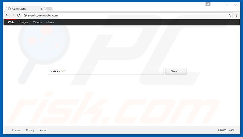 search.queryrouter.com browser hijacker