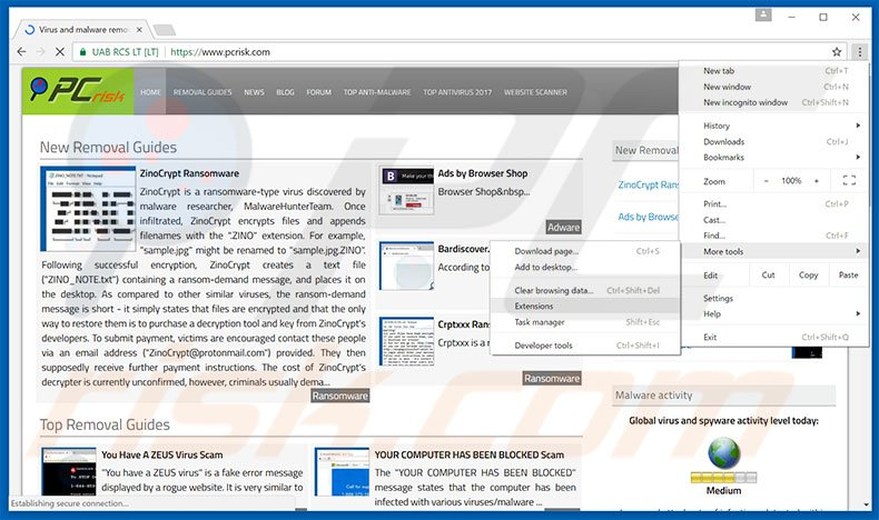 Extensions and Apps in the Chrome Web Store