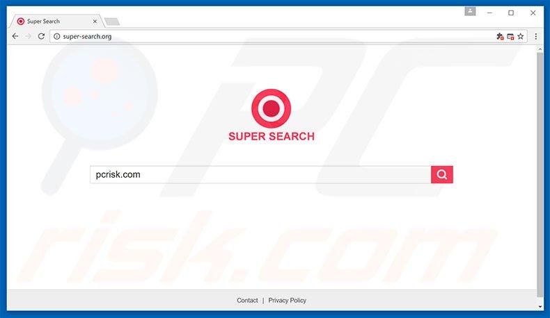 super-search.com browser hijacker