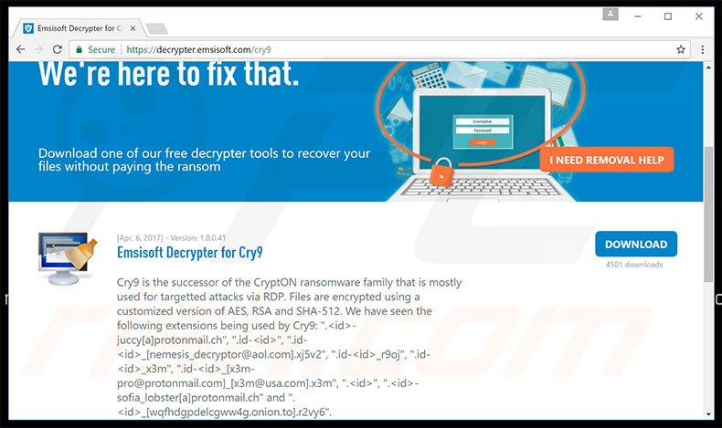 How to remove Cry9 Ransomware - virus removal steps (updated)