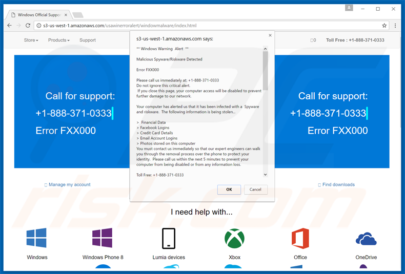 How to uninstall Microsoft Warning Alert Scam - virus