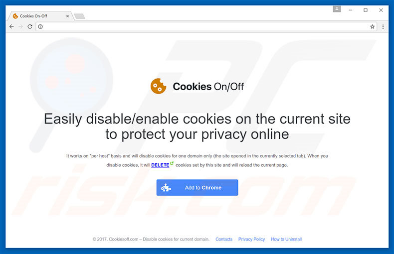Cookies On-Off adware