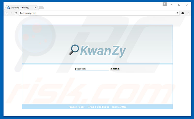 kwanzy.com browser hijacker