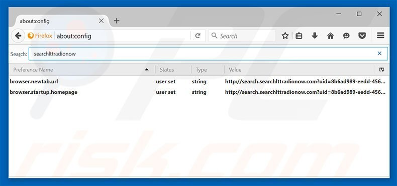 how to remove default search engine in firefox