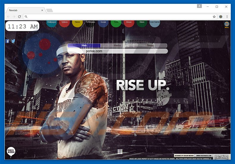 search.nyknicksbuzzsearch.com browser hijacker