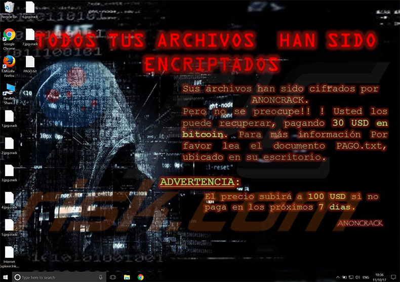 ANONCRACK decrypt instructions
