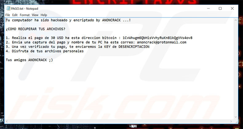 ANONCRACK text file