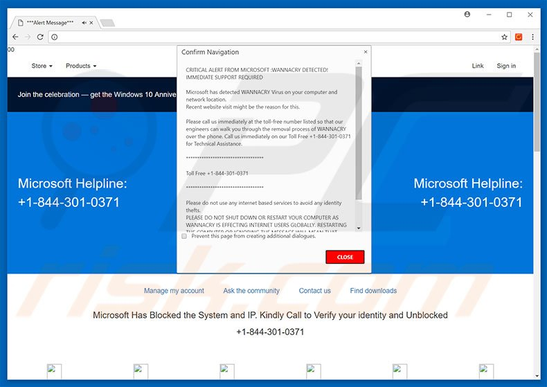 How to uninstall CRITICAL ALERT FROM MICROSOFT Scam - virus