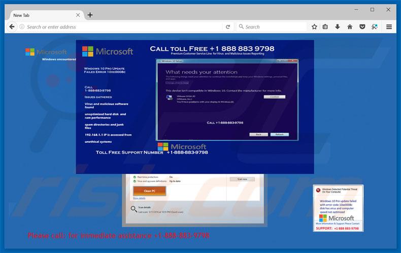 windows 10 update virus