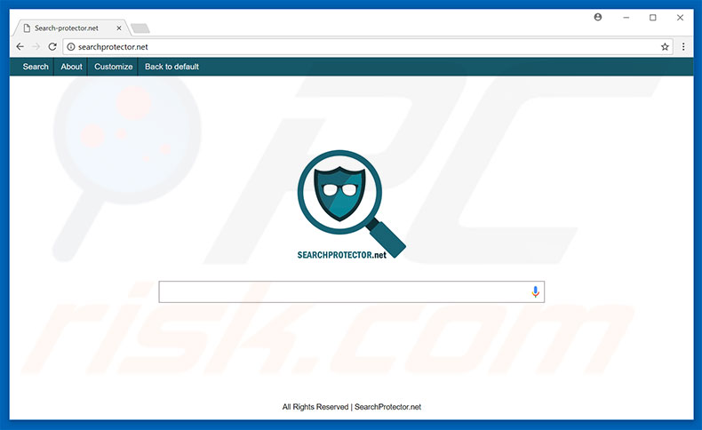 searchprotector.net browser hijacker