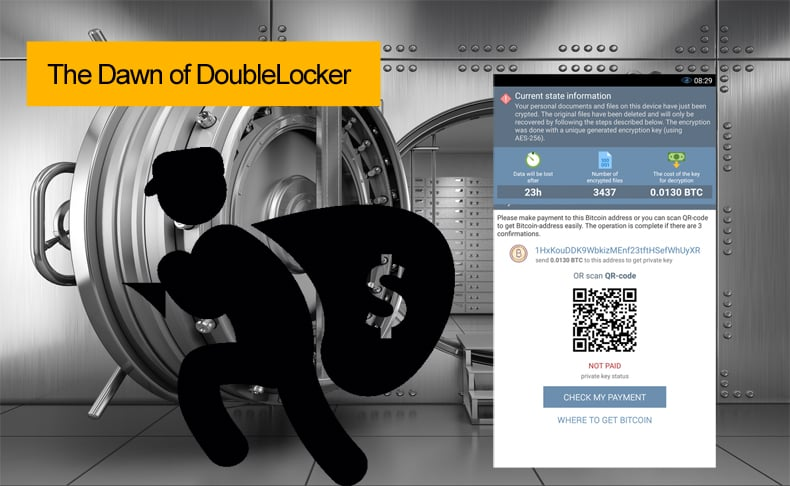the dawn of doublelocker (android ransomware)