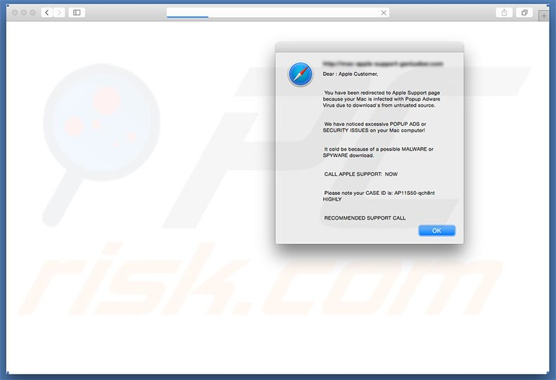 pop up ads virus safari