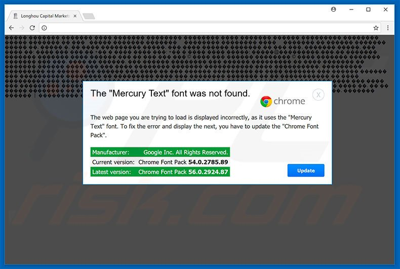 The Mercury Text Font Was Not Found Google Chrome variant