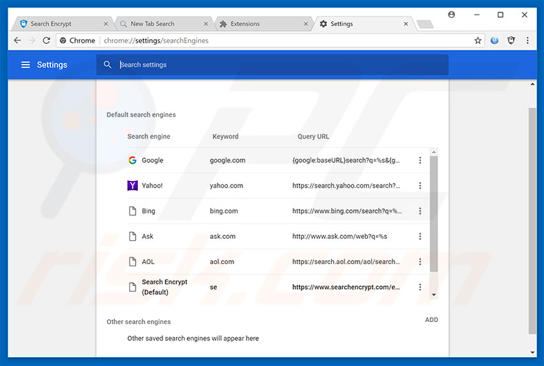how to change default email account on chrome