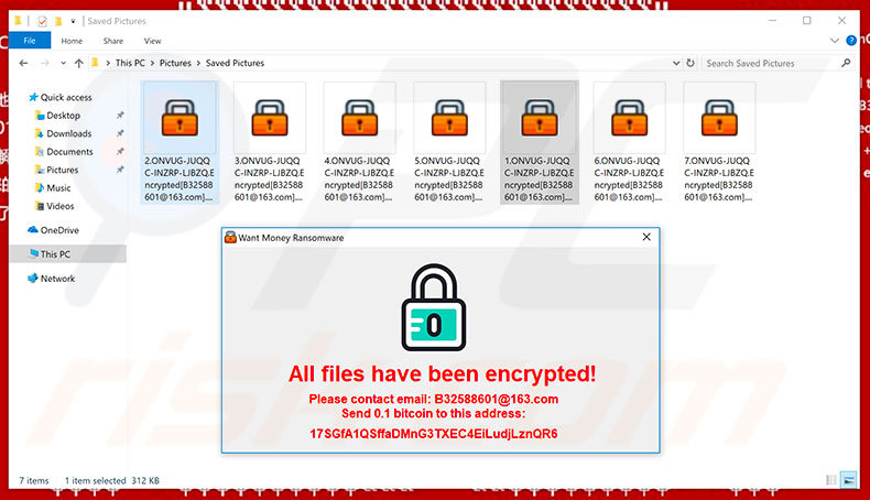 Files encrypted by WantMoney