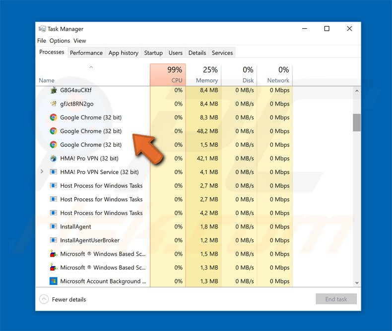 How to uninstall Chrome exe Virus - virus removal
