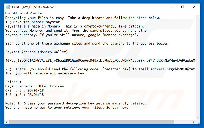 How to remove Creeper Ransomware - virus removal steps