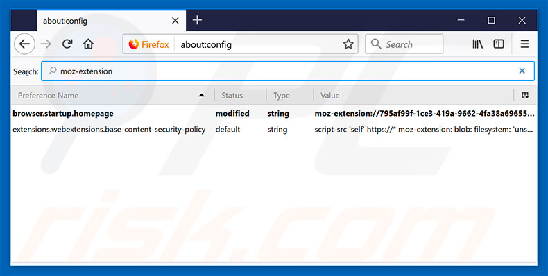 Removing search.hemailinboxlogin.com from Mozilla Firefox default search engine