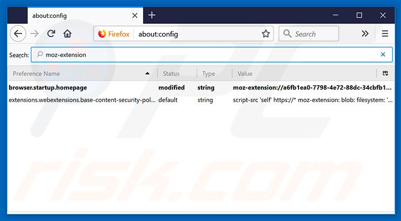 Removing search.hyourfreeonlineforms.com from Mozilla Firefox default search engine