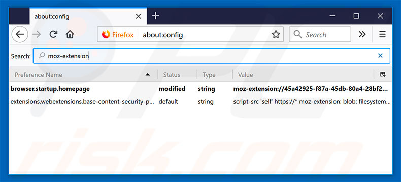 Removing search.hofficeworksuite.com from Mozilla Firefox default search engine