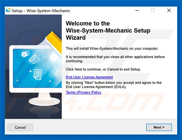 Wise System Mechanic installation setup