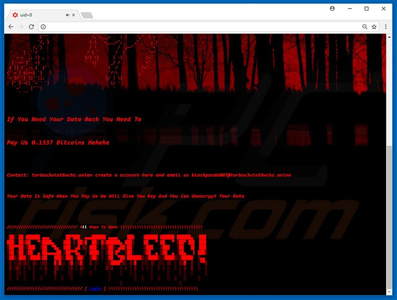 HeartBleed ransomware