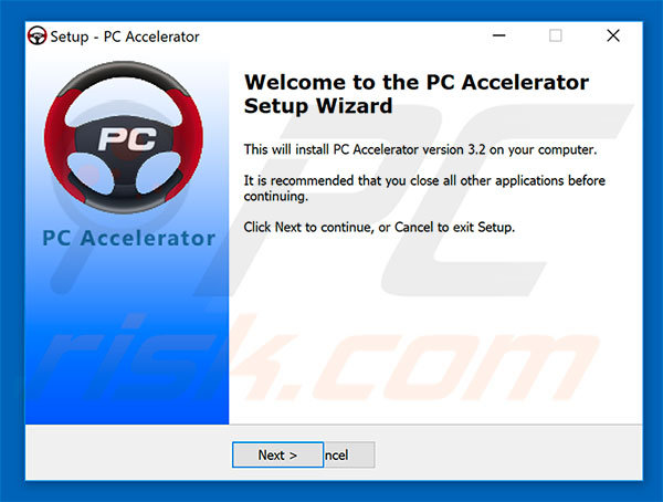 PC Accelerator installation setup