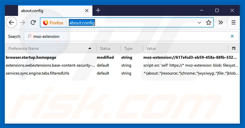 Removing search.hmytemplates.co from Mozilla Firefox default search engine
