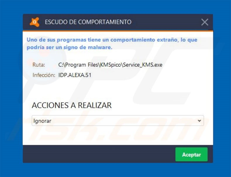 How to remove Idp alexa 51 Virus - virus removal instructions (updated)