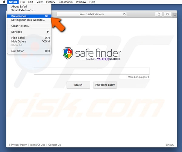 How to get rid of Safe Finder Virus (Mac) - virus removal