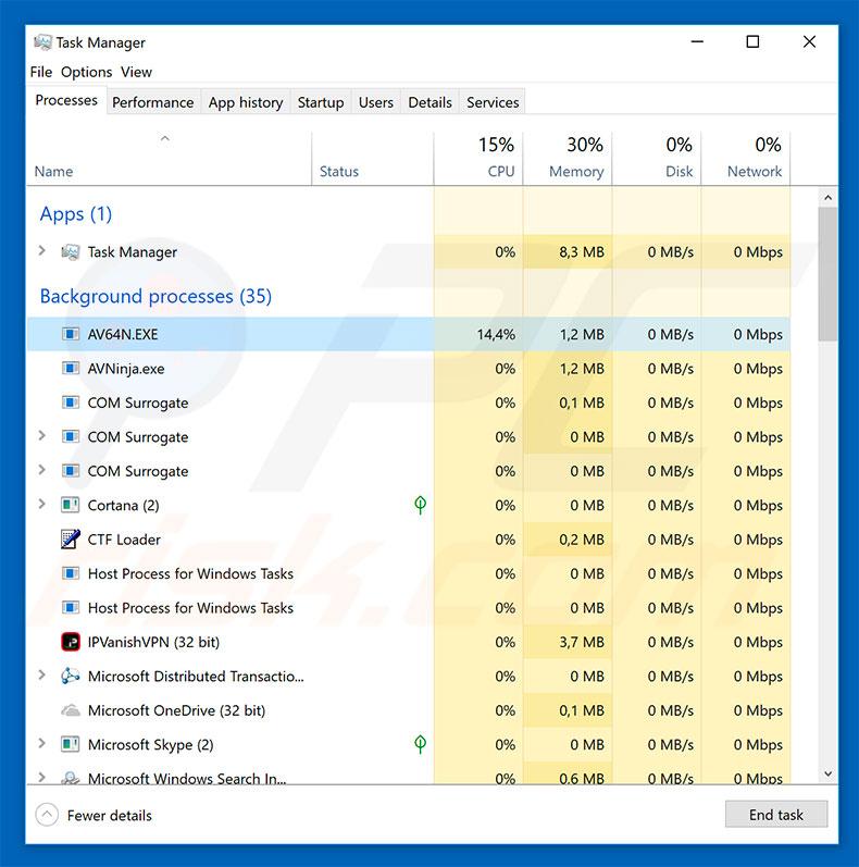 How to remove AV64N.EXE Trojan - Virus removal instructions (Updated)
